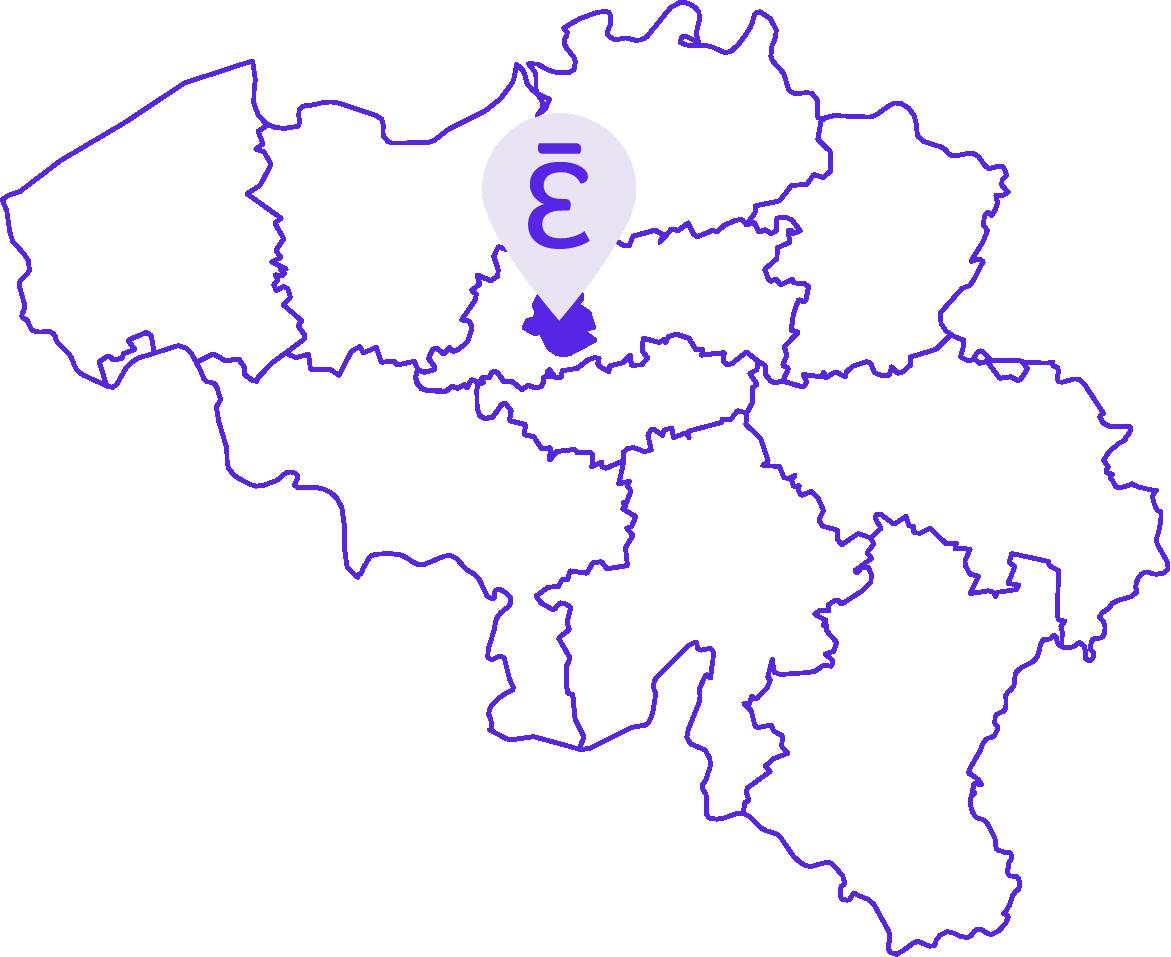Notre Agence de Communication est présente dans Bruxelles-Capitale